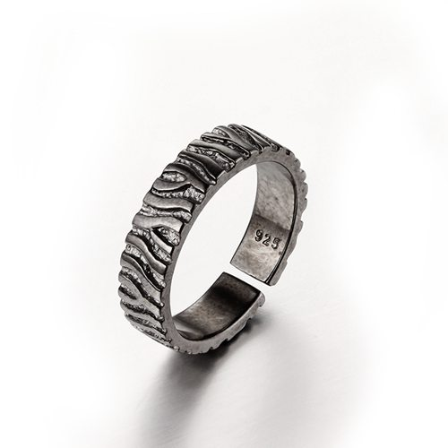 925 sterling silver open rings for men