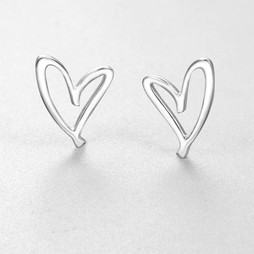 925 sterling silver cute heart charms