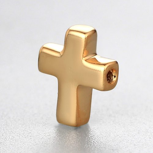 925 sterling silver diy cross beads