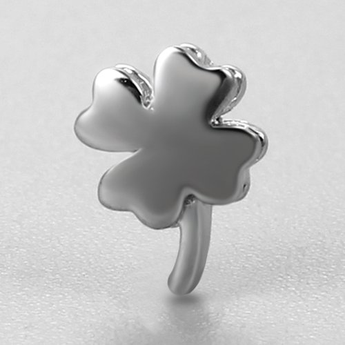 925 sterling silver clover charms