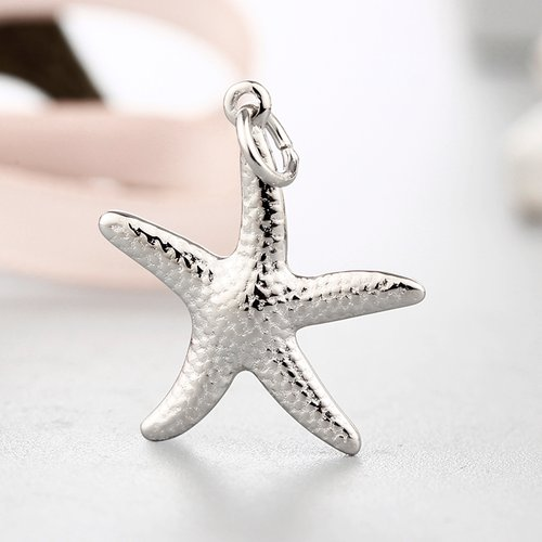 925 sterling silver starfish charms