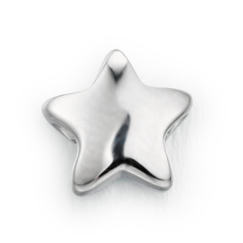925 sterling silver cute star pendant charm