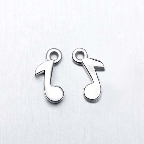 925 sterling silver music charms