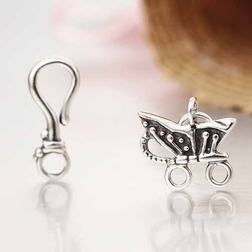 925 sterling silver toggle clasps