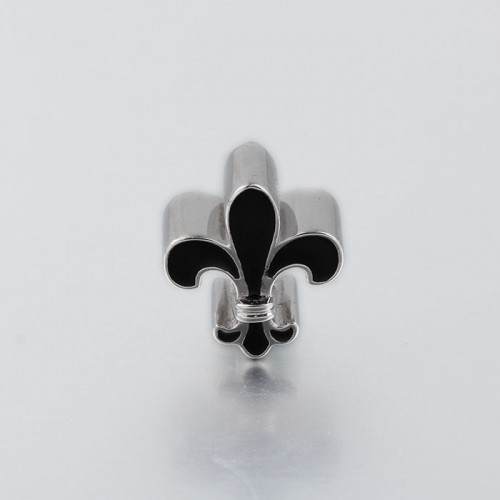 925 sterling silver lily charm beads