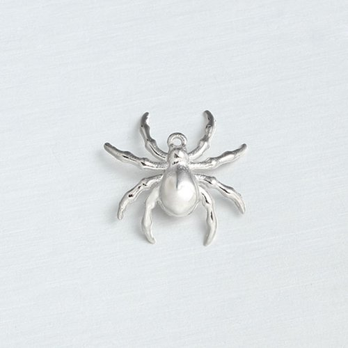 925 sterling silver spider charms