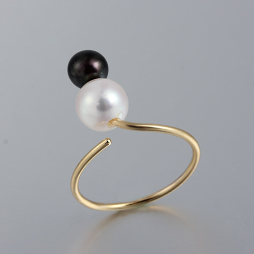 925 sterling silver adjustable pearl ring mounting