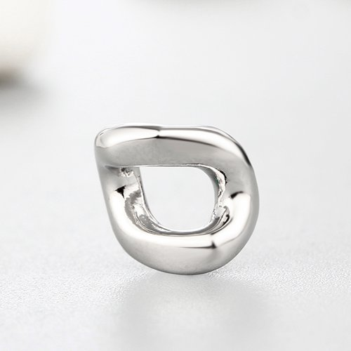 925 sterling silver irregular spacer