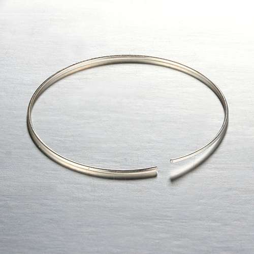 925 sterling silver round earring wire