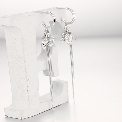 925 sterling silver drop earring findings for pearl