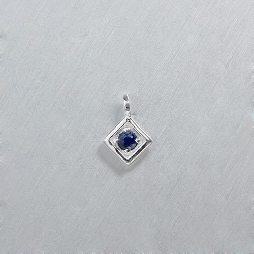 925 sterling silver gemstone dianond charms --5mm