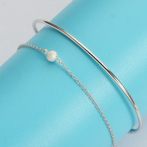 Fashion 925 sterling silver bracelet bangle