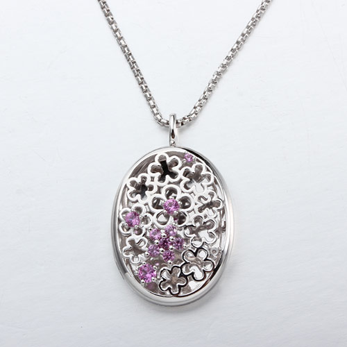 925 sterling silver cz flower of life diffuser locket