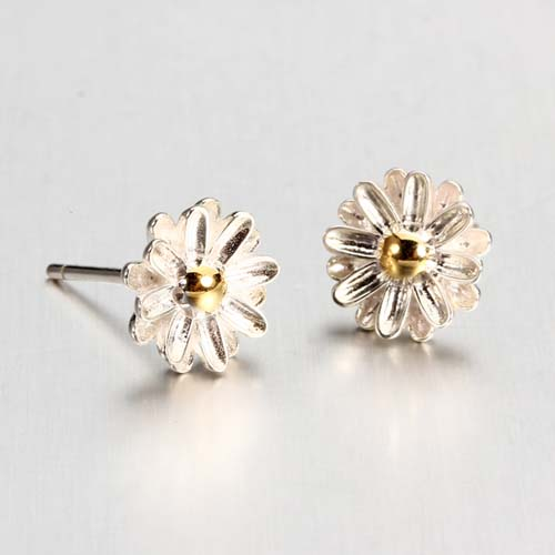 925 sterling silver daisy stud earrings wholesale