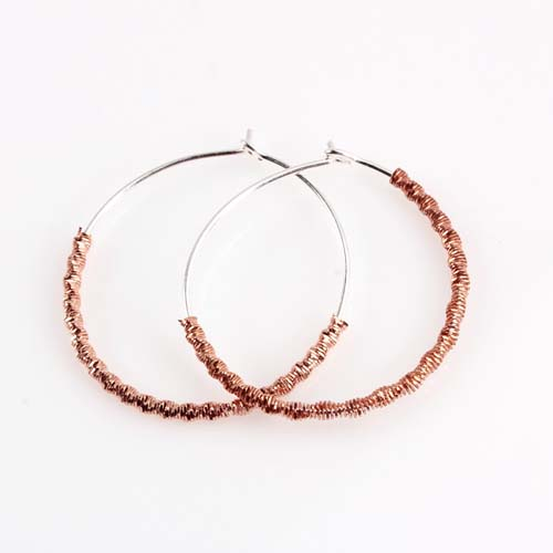 925 sterling silver big hoop earrings wholesale