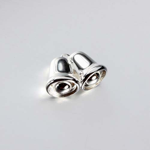 Christmas 925 sterling silver jingle bell charms