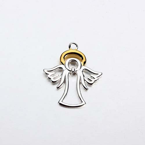 925 sterling silver guardian angel charm -20mm
