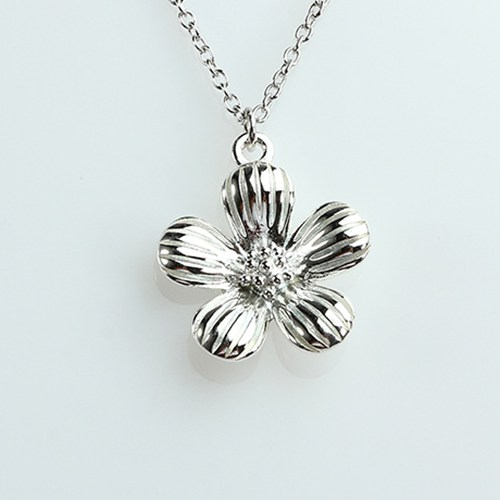 925 sterling silver spring flower charms -18mm