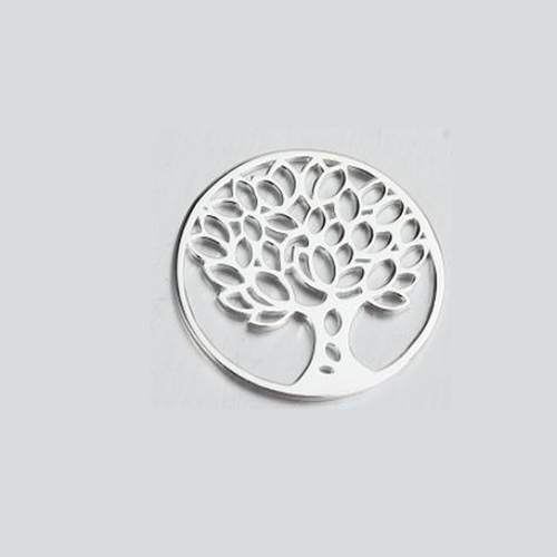 925 sterling silver tree life pendant for locket