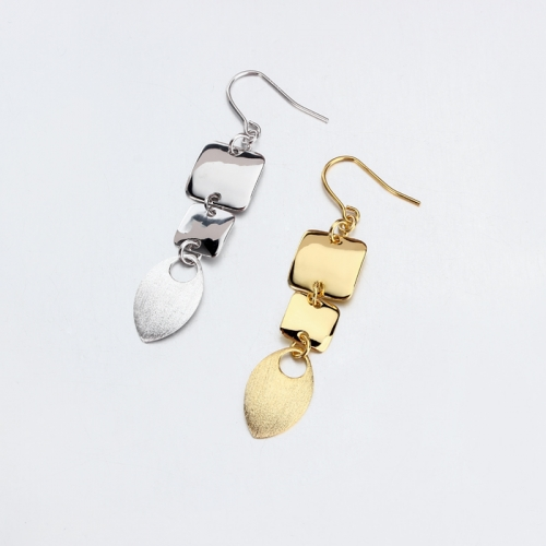 Renfook 925 sterling silver 2019 disc earrings 2019