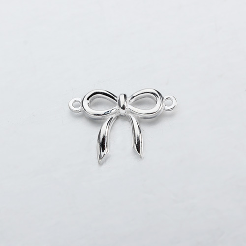 Renfook Sterling silver butterfly knot connector for DIY making