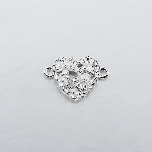 Renfook Sterling silver flower connector for DIY making