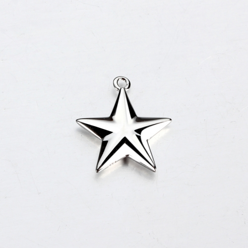 Renfook sterling silver 925 hot-selling star charm