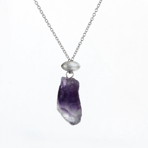 Renfook 925 sterling silver gemstone pendant necklace jewelry