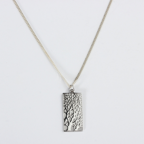 Renfook 925 sterling silver life tree chain necklace for women